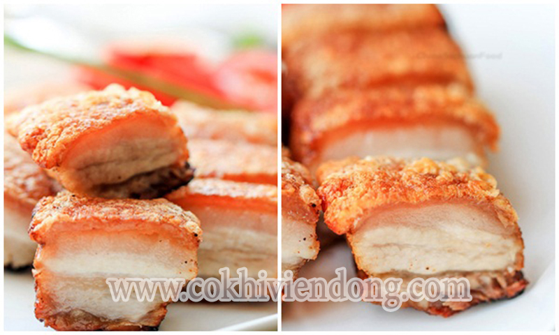 Cách làm thịt giòn bì