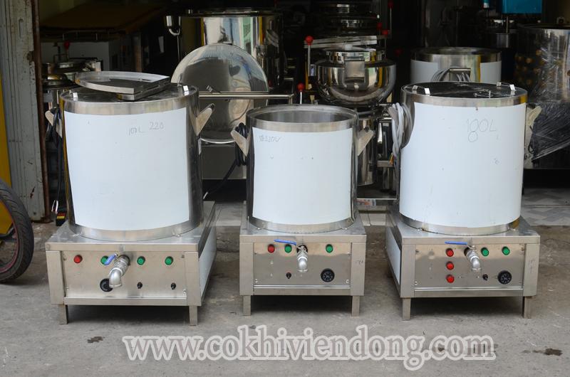 Bộ nồi nấu nước phở bằng điện tiêu chuẩn