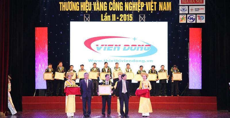 Viễn Đông nhận giải vàng ngành công nghiệp