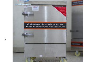 Hướng dẫn lắp đặt tủ nấu cơm công nghiệp bằng điện Việt Nam