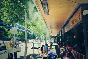Mua máy phun sương cho quán ăn, quán bia