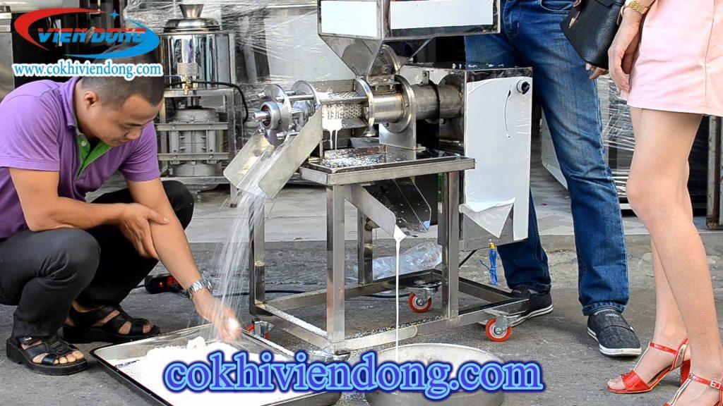 máy ép nước cốt dừa chạy bằng điện