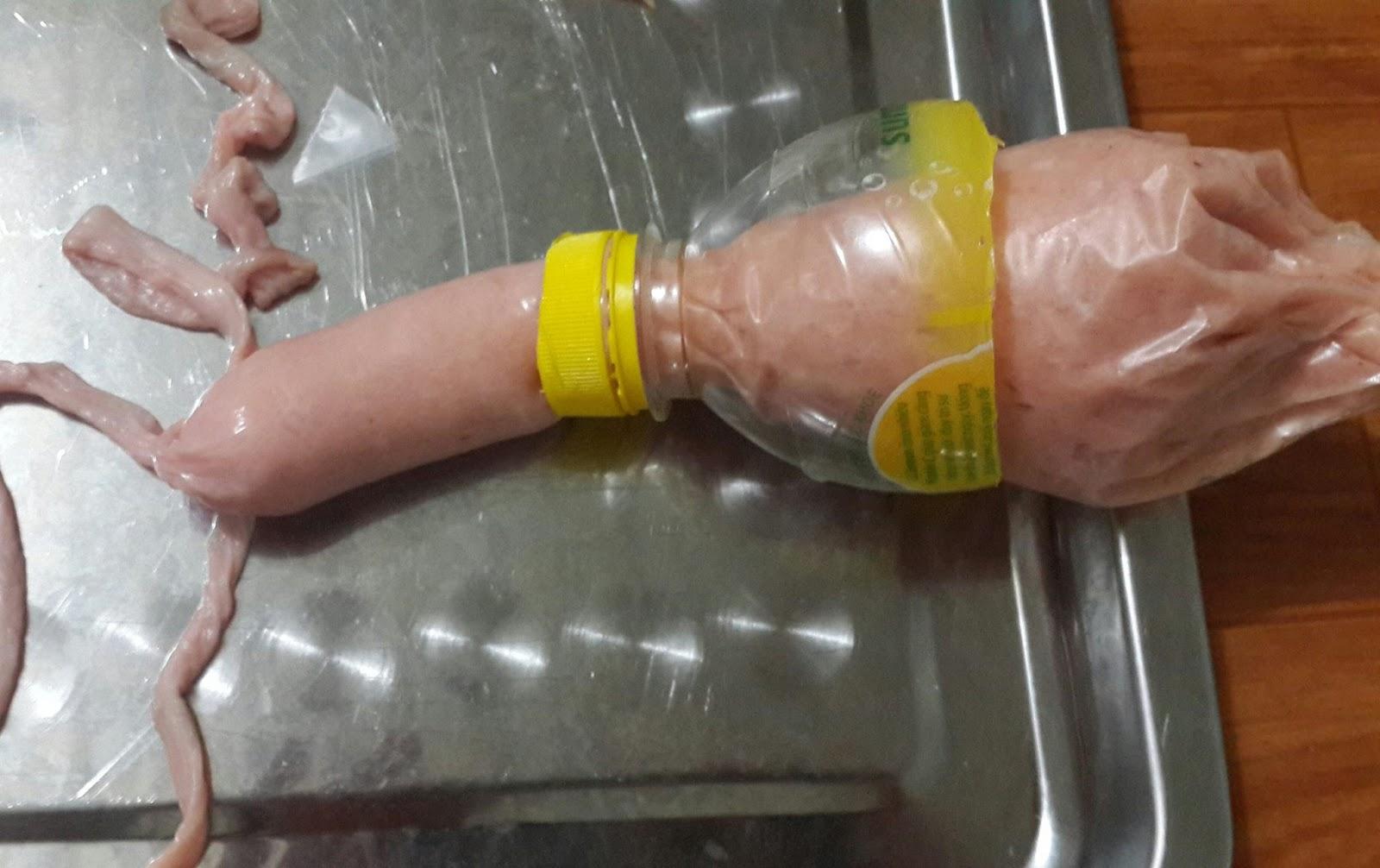 Cách làm xúc xích không cần vỏ