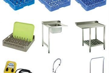 Những phụ kiện máy rửa bát Ozti cần có để đạt năng suất tốt nhất!