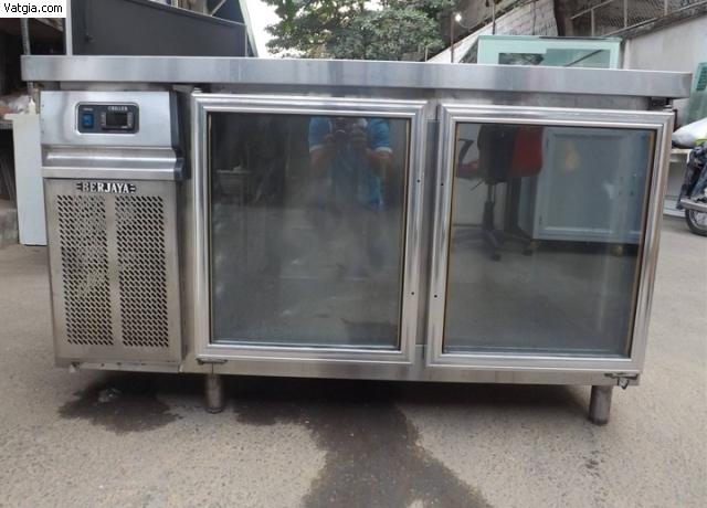bàn lạnh 2 cánh kính