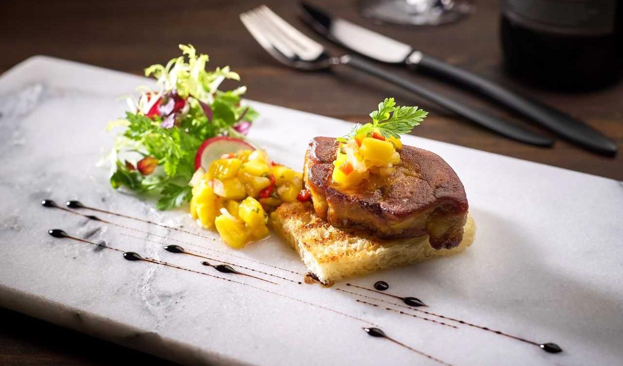 Món ăn được chế biến từ bếp âu