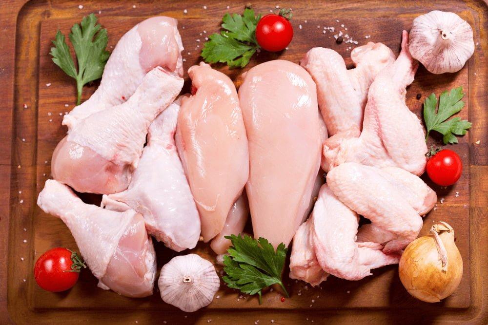 Máy chặt thịt gà