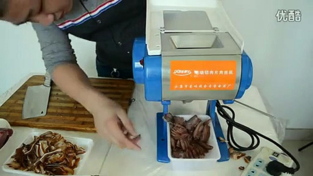 Hỏng máy thái thịt mini