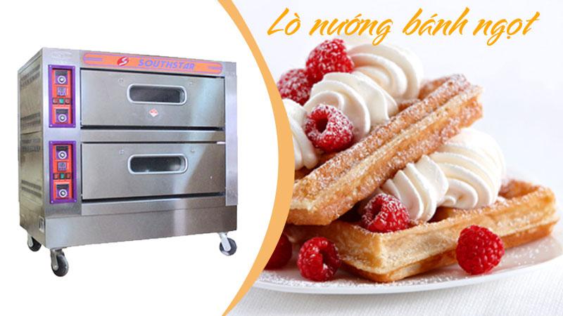 Giá lò nướng bánh công nghiệp