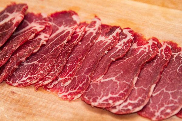máy thái thịt bò quán phở