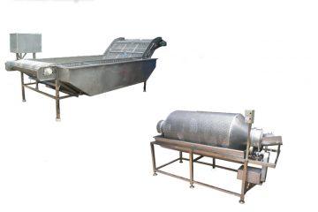 Các loại máy rửa cá công suất lớn