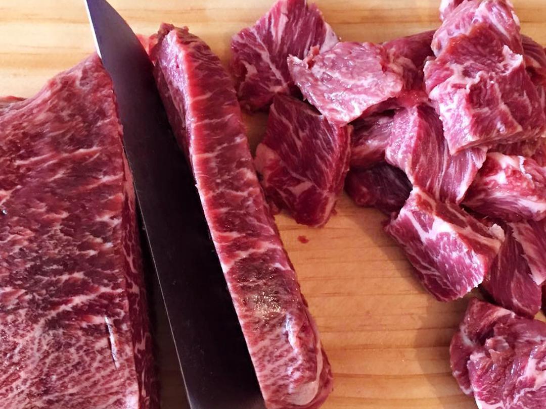 máy thái thịt bò tươi