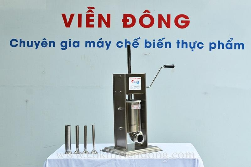 máy làm xúc xích mini