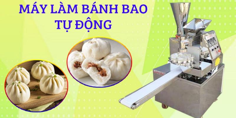 Máy sản xuất bánh bao - Dây chuyền tự động
