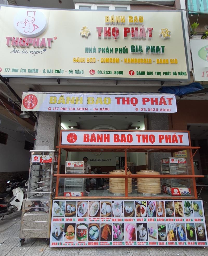Máy sản xuất bánh bao - trưng bày bán